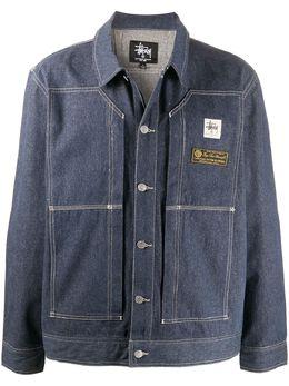1017 Alyx 9Sm джинсовая куртка с контрастной строчкой SZUOU0065FA01