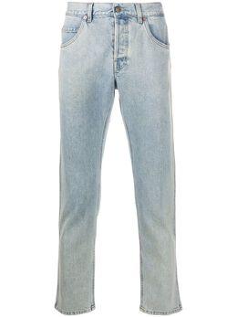 Gucci укороченные джинсы прямого кроя 408637XDBCD