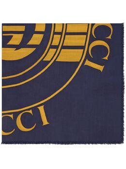 Gucci шарф с логотипом 6305044GB14