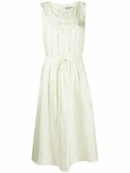 Malo платье миди с геометричным принтом DRS008T4F15