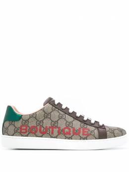 Gucci кеды Boutique с принтом 6232352BL10