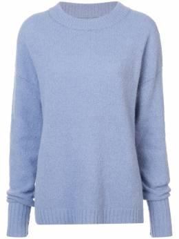Tibi свитер с круглым вырезом P218AS6073