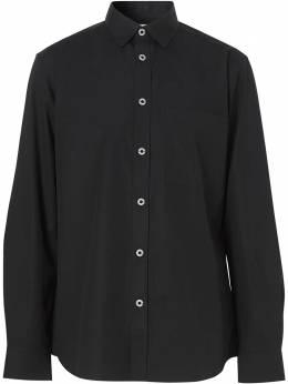 Burberry рубашка с карманом 8028876