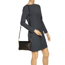 Miu Miu Black Studded Leather Crossbody Bag 302328