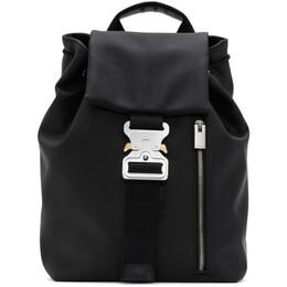 1017 Alyx 9Sm Black Tank Backpack AAUBA00020FA02.F20