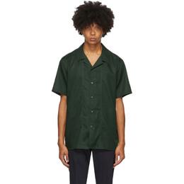 Tiger Of Sweden Green Riccerde Short Sleeve Shirt T66447003