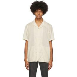 Tiger Of Sweden Off-White Riccerde Short Sleeve Shirt T66447003