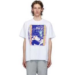 Brain Dead White Magic Rite T-Shirt BDS20T00001068WH01