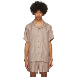 Tiger Of Sweden SSENSE Exclusive Pink Riccerde Short Sleeve Shirt T68982005S
