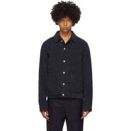 Officine Generale Navy Dyed Leo Jacket W20MOTW603PRE