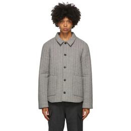 Officine Generale Grey Theo Jacket W20MOTW600PRE