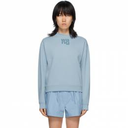 T By Alexander Wang Blue Foundation Terry Sweatshirt 4CC1201157