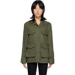 Toteme Green Avignon Jacket 203-103-721