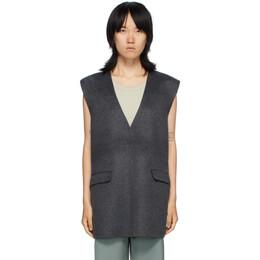 Toteme Grey Alcoba Vest 201-101-722