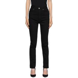 Toteme Black New Standard Jeans 201-234-746