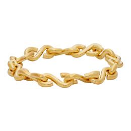 All Blues Gold Polished S Bracelet 101651