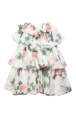 Шелковое платье Dolce&Gabbana L52DC2/IS1BD/8-14