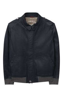 Кожаная куртка Brunello Cucinelli BPNPEY102C