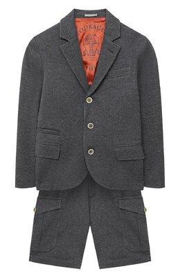 Костюм из пиджака и шорт Brunello Cucinelli BD847A103A