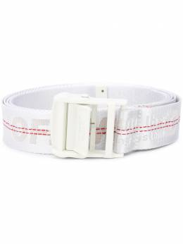 Off-White CLASSIC INDUSTRIAL BELT WHITE WHITE OWRB009E20FAB0010101