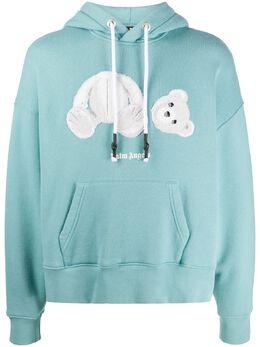 Palm Angels Teddy Bear hoodie PMBB058E20FLE0045001