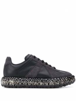 Maison Margiela embellished sole panelled sneakers S37WS0503P1895