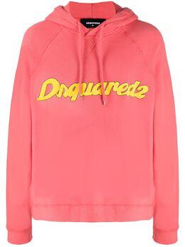 Dsquared2 толстовка с капюшоном и логотипом S74GU0454S25140