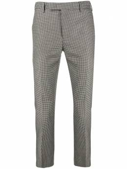 Pt01 houndstooth print trousers AFX0Z00FWDMA94