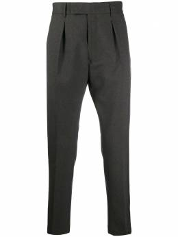 Pt01 slim-fit tailored trousers AFX1Z00FWDMZ22