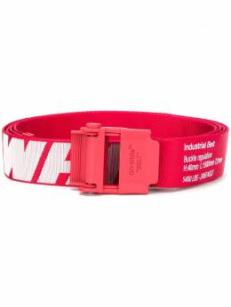 Off-White 2.0 INDUSTRIAL BELT RED WHITE OMRB034E20FAB0012501