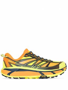 Hoka One One yellow Mafate Speed 2 sneakers 1012343