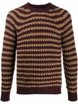 Roberto Collina striped knitted long sleeve jumper RD46001