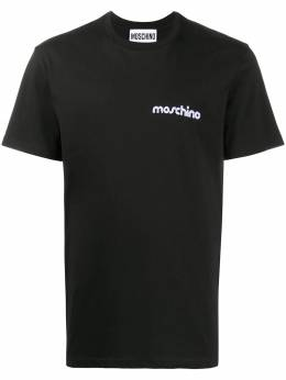 Moschino embroidered logo T-shirt A07105240