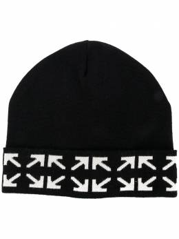 Off-White шапка с логотипом Arrows OMLC012E20KNI0011001