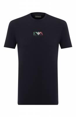 Хлопковая футболка Emporio Armani 6H1T71/1J11Z