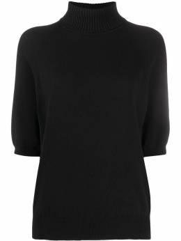 Saint Laurent half sleeves turtleneck jumper 635603YALL2