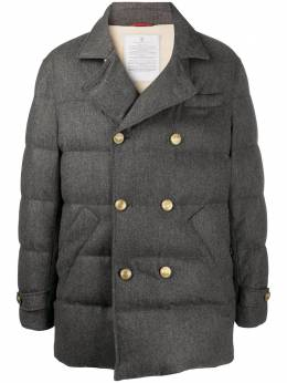 Brunello Cucinelli quilted double-breasted jacket MN4661521MCD113