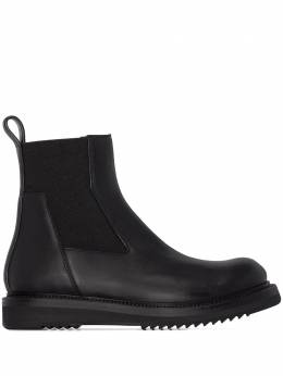 Rick Owens black Creeper leather ankle boots RP20F2852