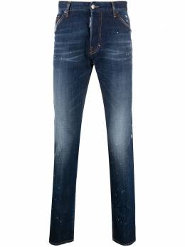 Dsquared2 distressed mid-rise skinny jeans S74LB0768S30342