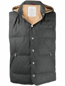 Brunello Cucinelli hooded quilted gilet MM4281162CV567
