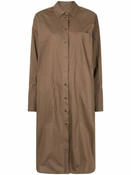 Lee Mathews oversized midi shirt-dress E2001DR232