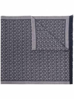 Salvatore Ferragamo logo embroidered scarf 327955717647