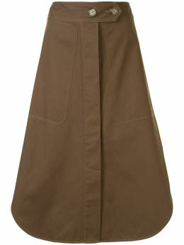Lee Mathews юбка Drill E2001SK224