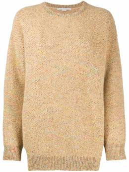 Stella McCartney micro sequin-embellished knitted jumper 601744S2197