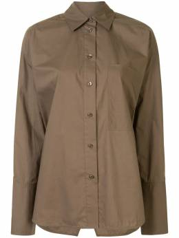 Lee Mathews поплиновая рубашка с длинными рукавами E2001TO231