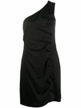Giorgio Armani Pre-Owned платье 1990-х годов на одно плечо GIARM380