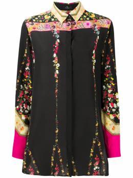 Etro floral-print silk shirt 190345039