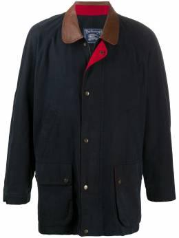 Burberry Pre-Owned пальто 1990-х годов со срезанным воротником BURB380Y