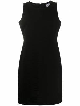 Giorgio Armani Pre-Owned платье-трапеция 1990-х годов в рубчик ARM280M