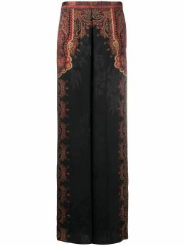 Etro paisley-print jacquard palazzo trousers 188465151